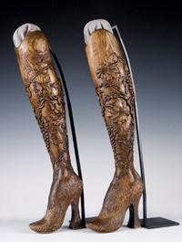 Aimee Mullin's prosthetic legs
